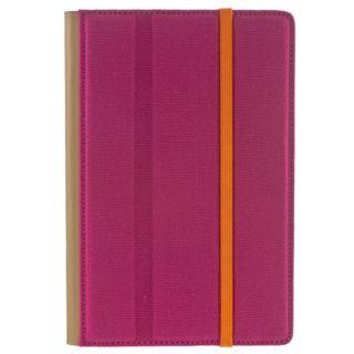 Edge    Kindle Fire Pink Folio Trip Jacket Foldable Cover Case