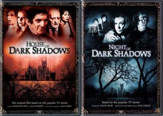House of Night of Dark Shadows New 2 DVD