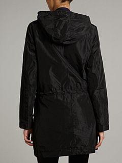 Michael Michael Kors Long sleeved anorak with gold panels Black