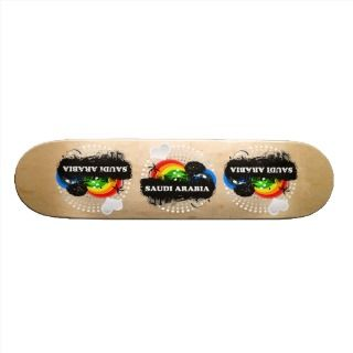 Cute Fruity Saudi Arabia Skateboard Deck