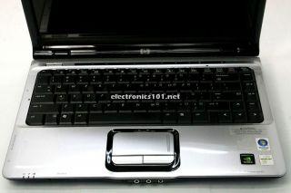 HP DV2000 14 1 Core 2 Duo 1 83GHz 2GB 250GB Laptop DVD RW Burner