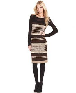 quarter sleeve belted cowl neck sweater dress orig $ 58 00 24 99