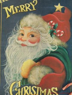 Jill MacFarlane HO HO Merry Christmas Santa Mag Article Pattern
