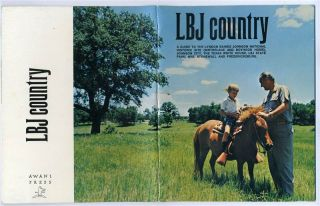 LBJ Country Guide to Lyndon B Johnson National Historic Site 1975