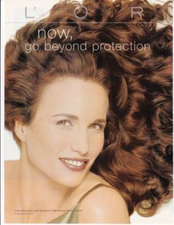 Andie MacDowell Celebrity clippings Lot 1