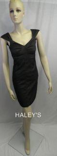 New Max Studio MSSP Black Sexy Cocktail Dress Sz XS M