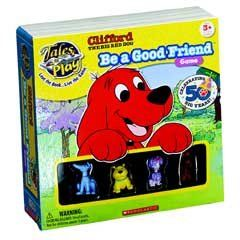 Features of Clifford Big Red Dog Be a Good Friend Game