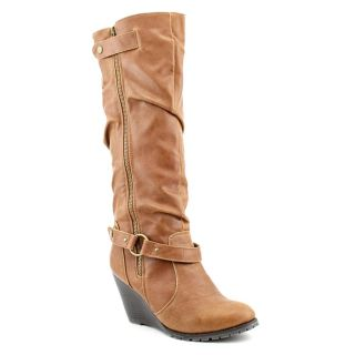 Used Madden Girl Umpiree Womens Size 8 5 Brown Fashion Knee High Boots