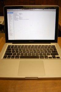 Apple MacBook Pro Model A1278 Laptop Mac OS X