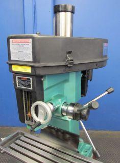 Nice Cenral Machinery 28 1 2 x 8 1 4 Milling Drilling Machine 33696