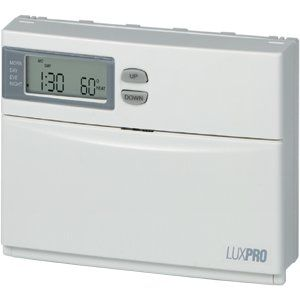Features of Programmable Heat Pump Thermostat LuxPro