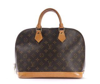 Louis Vuitton Monogram Canvas Alma Bag