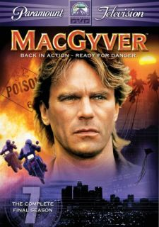 MacGyver Season 7 New SEALED 4 DVD Set