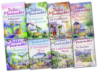 Debbie Macomber Collection 8 Books Set Cedar Cove Series New 74