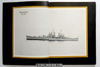 USS Macon CA 132 Mediterranean Cruise Book 1958 1959