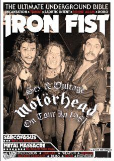 Iron Fist Magazine Issue 2 Dec Jan 2012 Motorhead Sarcofagus Metal