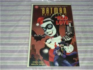 Batman Adventures Mad Love 1 Third Printing Variant Origin of Harley