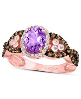 Le Vian 14k Rose Gold Ring, Amethyst (9/10 ct. t.w.), Chocolate and
