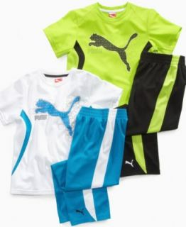 Puma Kids Separates, Little Boys Cat Jacket and Formstripe Pant