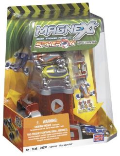 Mega Bloks Magnext Spheron Triple Launcher Cars Set