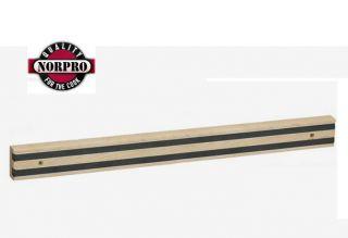 Norpro 18 Magnetic Wood Knife Bar Tool Holder New 22