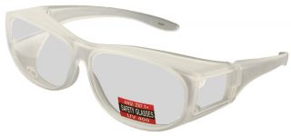 Escort Safety Glasses PLUS, FULL Magnifying Fit Over Safety Glasses