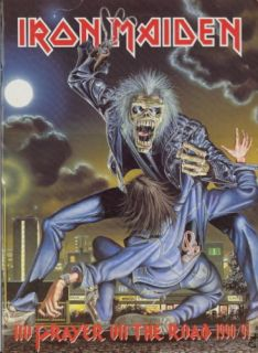 Iron Maiden 1990 No Prayer Tour U s Concert Program Book