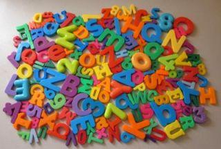 Fridge Magnetic Magnet Alphabet Letter Numbers LOT 150+ All Kinds of