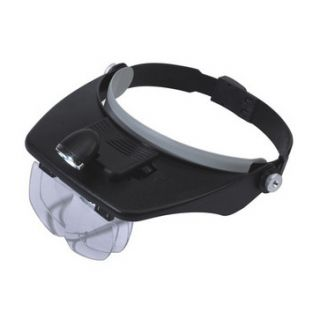 Head Magnifying Glass LED Light Magnifier Hand Jeweller