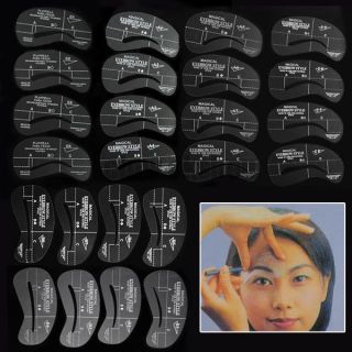 Eyebrow Stencil Tool Makeup Styles Eye Brow Template Shaper Make Up