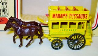 Madame Tussauds Horse Drawn Bus Lledo Days Gone DG4006 Boxed