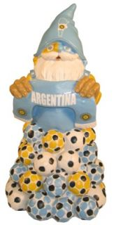 Argentina Soccer Football Lawn Garden Gnome Figurine Gnome