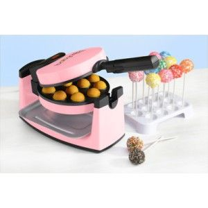 FLIP BABYCAKES BABY CAKES ROTATING 12 CAKE POP MAKER W BONUS LOLLIPOP