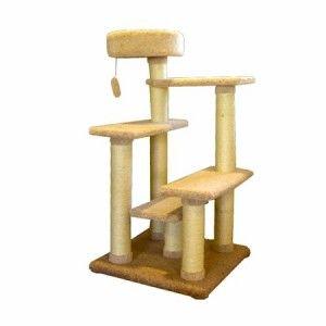 Free SHIP Majestic 48 inch Cat Tree Jungle Gym Furniture Scratching