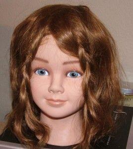 Professional Mannequin Little Girl Gilgi Real Hair