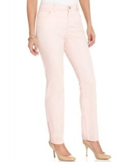 Style&co. Jeans, Skinny Leg Zippered, Colored Wash