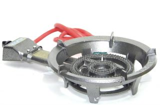 Portable Super Gas Stove Large Propane Brass Burner Cooking