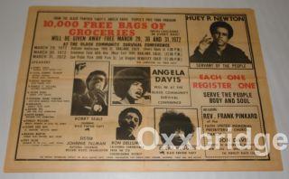 David Sibeko Malcolm x Black Panther Party Newspaper George Jackson