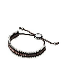 Links of London Black and Copper Friendship Bracelet