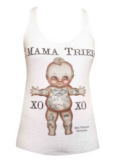 Mama Tried Andre Dre Perales Tank Top T Shirt Tattooed Tattoo Cupie