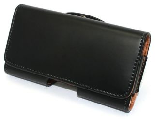 Black New Leather Case Belt Clip Pouch for Apple iPhone 3G 3GS 4G 4 4S