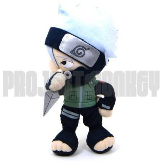 Shippuden Kakashi Hatake Plush Doll Japanese Anime Manga Licensed New
