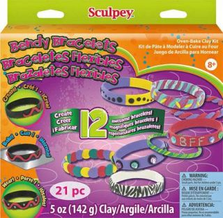 Sculpey Clay Activity Kit Bendy Bracelets