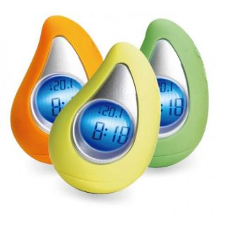 VIBE Talking Mango LED Alarm Clock & Temperature   Dress Up Your