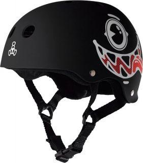 Triple Eight Maloof Face Special Edition Black Skateboard Helmet