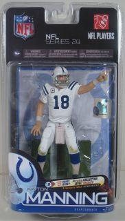 McFarlane NFL Series 24 Peyton Manning White Variant 6 Action Figure