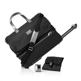 Joy Mangano Travelease Light Double Decker Wheeled Duffle Luggage