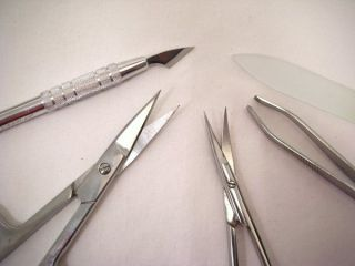 Surgical Steel Professional Manicure Set Kit Solingen Quality Genuine