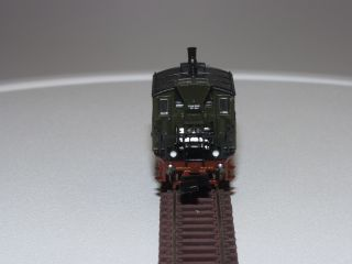 Minitrix N Scale 12005 Prussion Glassbox Tank Steam Locomotive 6801