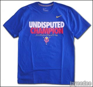Nike Manny Pacquiao Undisputed Champion Shirt Pound for Pound King of